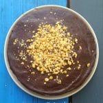 Walnut Chocolate Cake Chocolate Ganache
