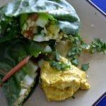 Groente wraps met kurkuma mayo