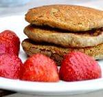 spelt buckwheat pancakes