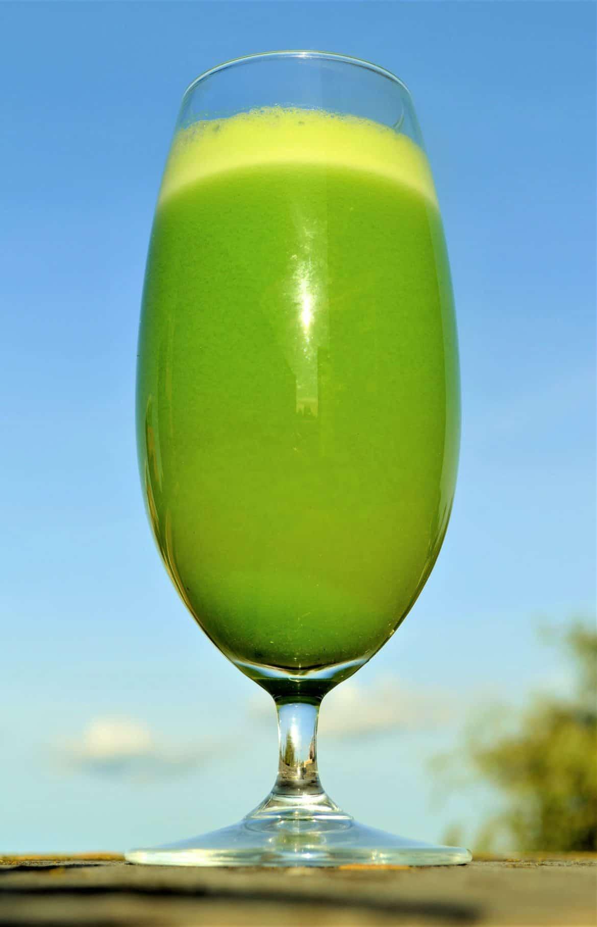 basic green juice