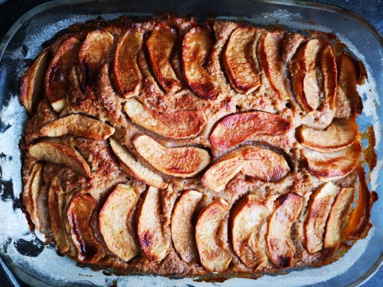 oat almond cake