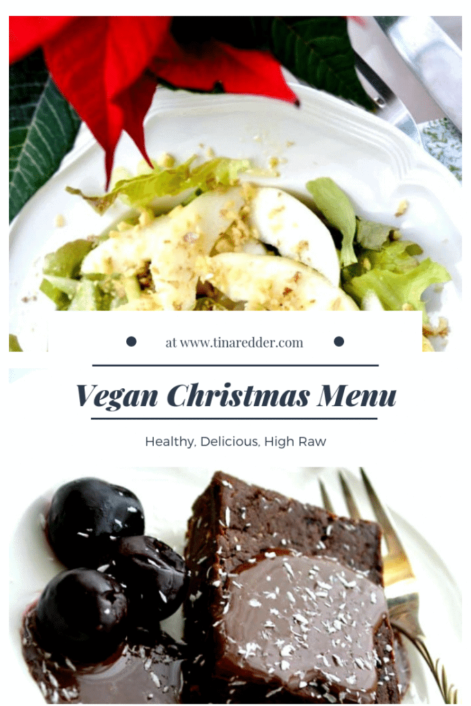 vegan christmas menu