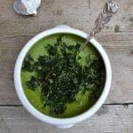 raw kale soup