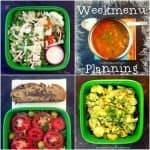weekmenu planning