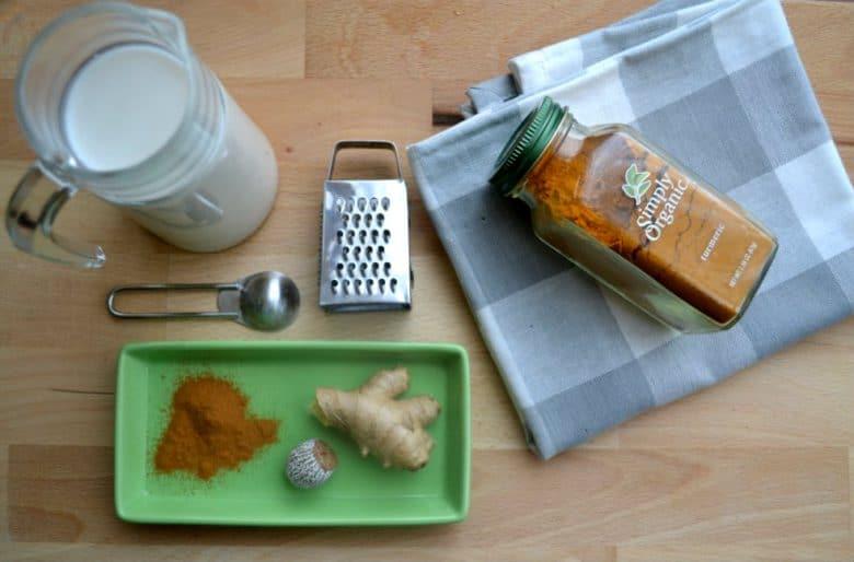 delicious vegan turmeric mayo