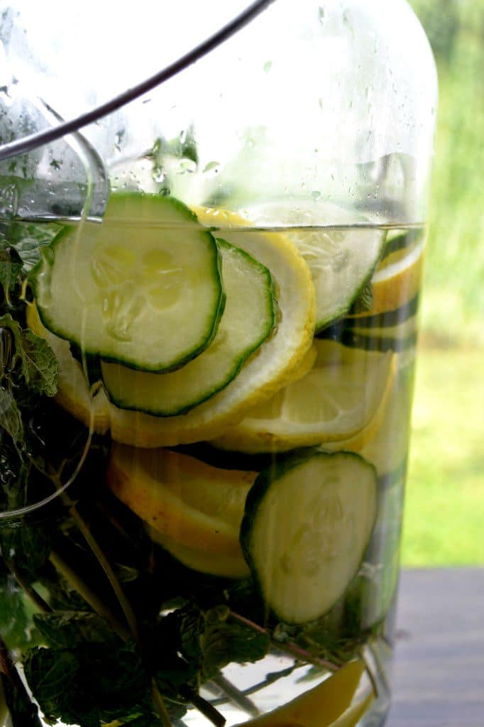body hydrating infused water ideas