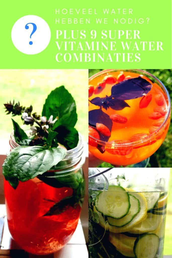 vitamine water maken