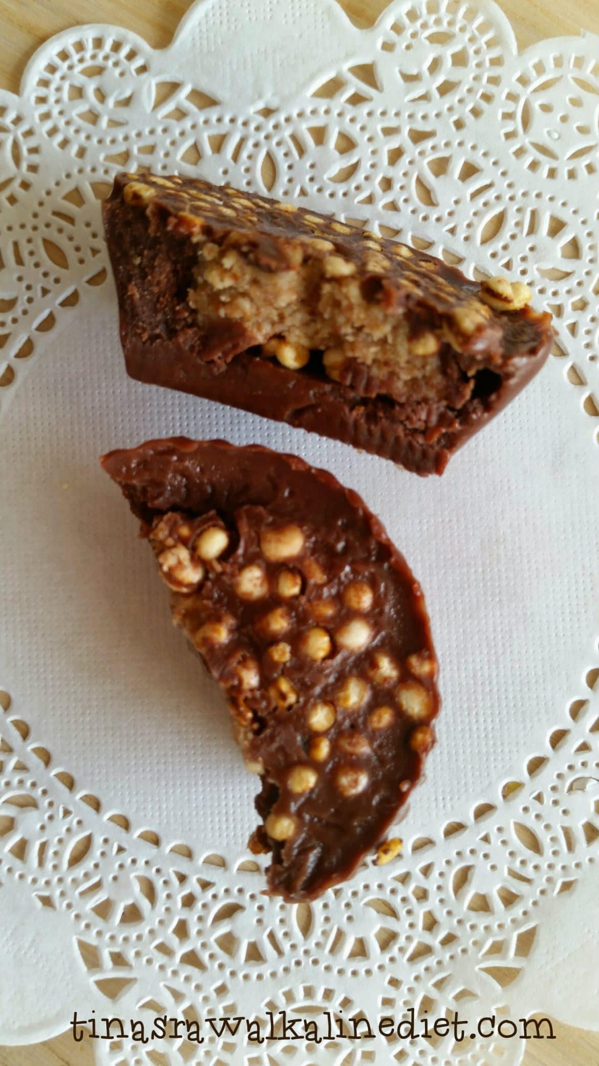 raw chocolate nut cupcakes