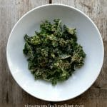 kale chips 2 ways