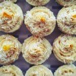 Lemon Cupcakes raw