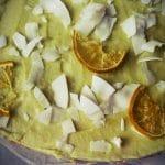 Limoen Kokos Taart raw