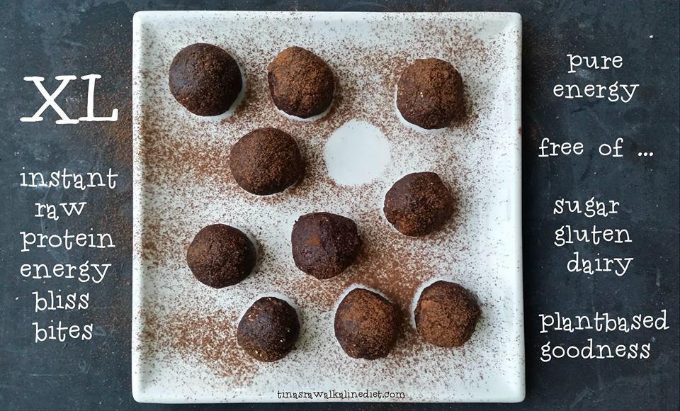 XL protein energy balls