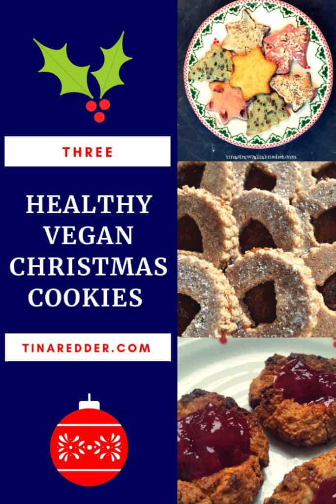 healthy vegan christmas cookies