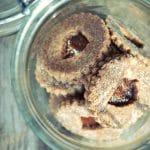 linzer cookies raw