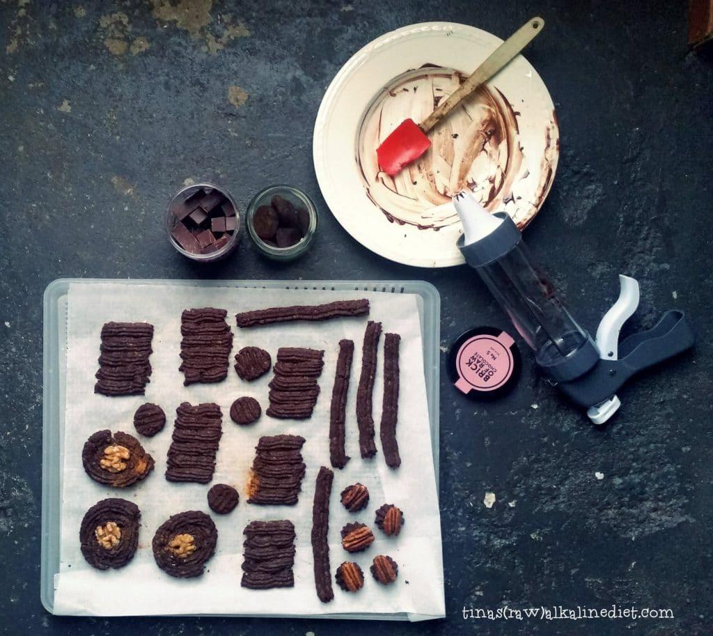 choco koeken rauw