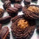 chocolate cookies raw