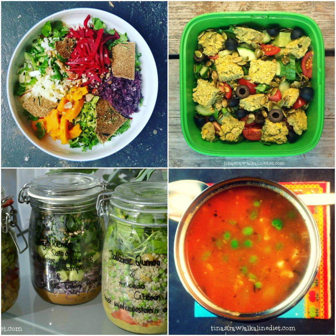 easy vegan lunch ideas to go