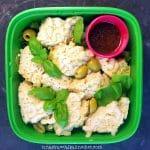 easy vegan lunch to go