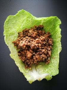 vegan hungarian cabbage rolls