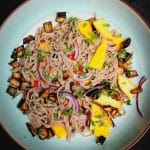 spicy soba noodle salad