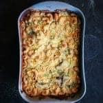 vegan cauliflower macaroni bake