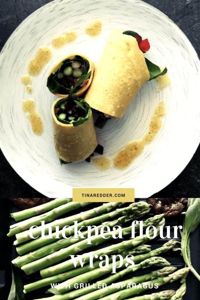 chickpea flour wraps