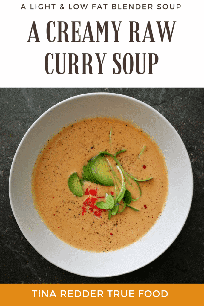 creamy raw curry soup
