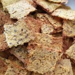 grain free seeds and lentil crackers