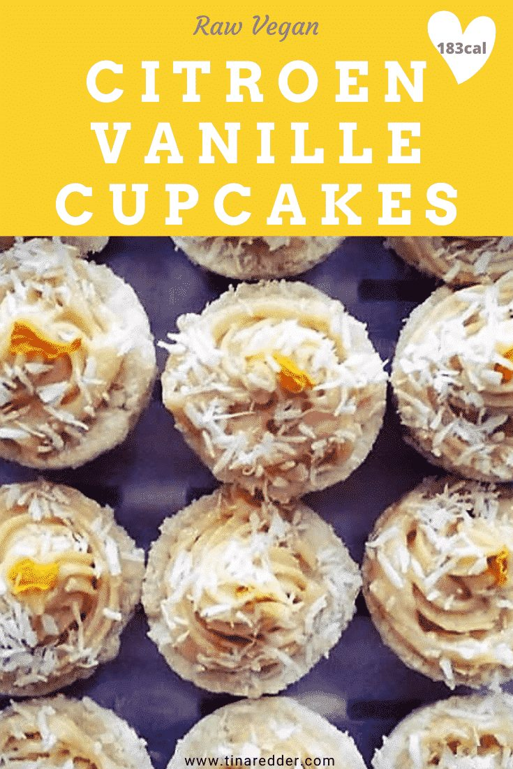 citroen vanille cupcakes