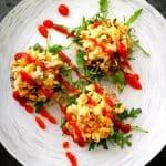 chickpea tuna salad sliders