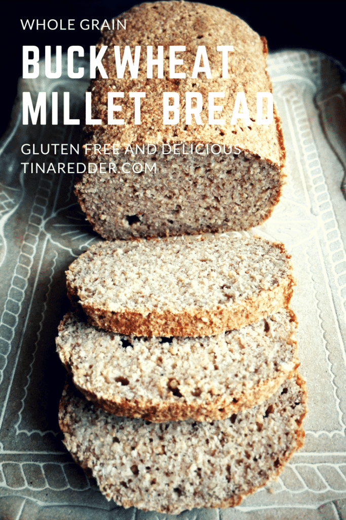 easy buckwheat millet bread