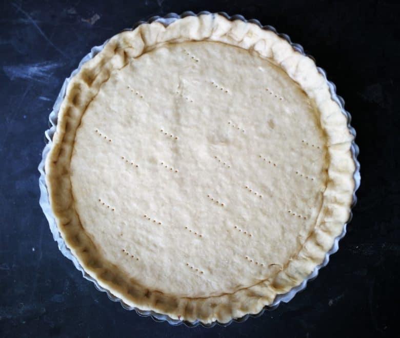 delicious vegan apple crumble pie