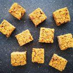 Pumpkin Oat Granola Squares