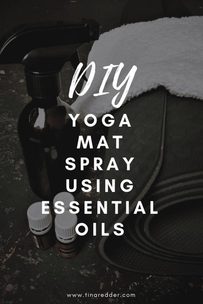 diy yoga mat spray
