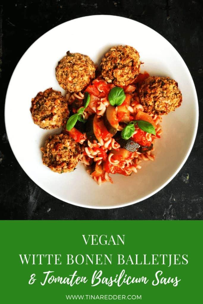 vegan white bean meatballs