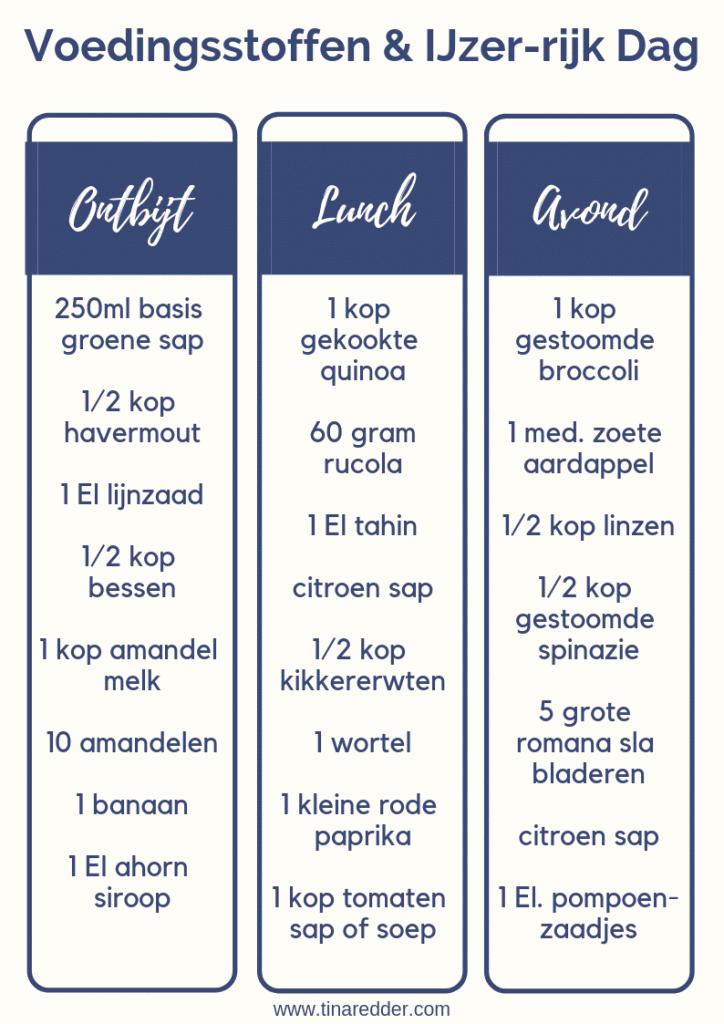 ijzerrijke voeding [ vegan bronnen van ijzer ] - tina redder - true food