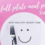 afvallen op een plantaardig dieet dag 4