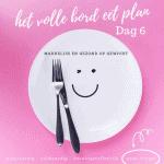 afvallen op een plantaardig dieet dag 6