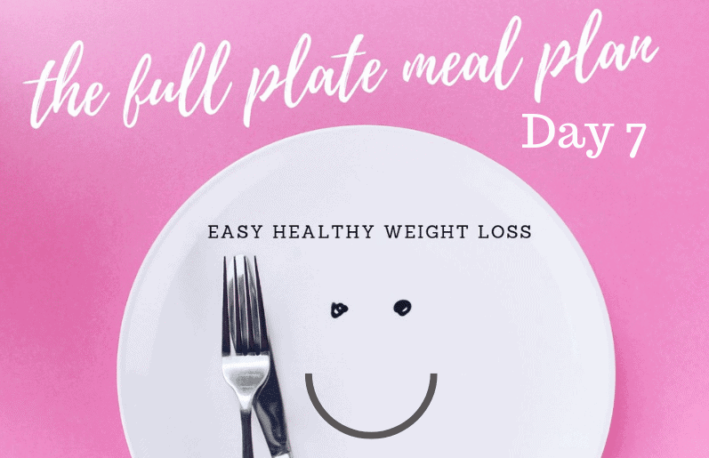 plant based weight loss day 7