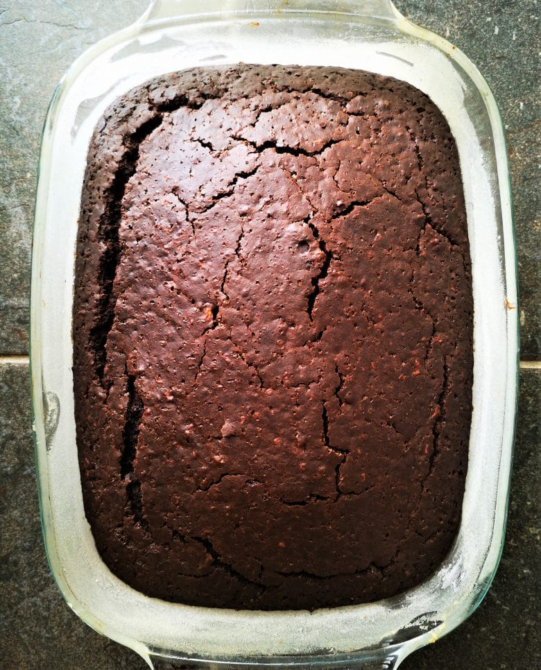 easy vegan chocolate cake