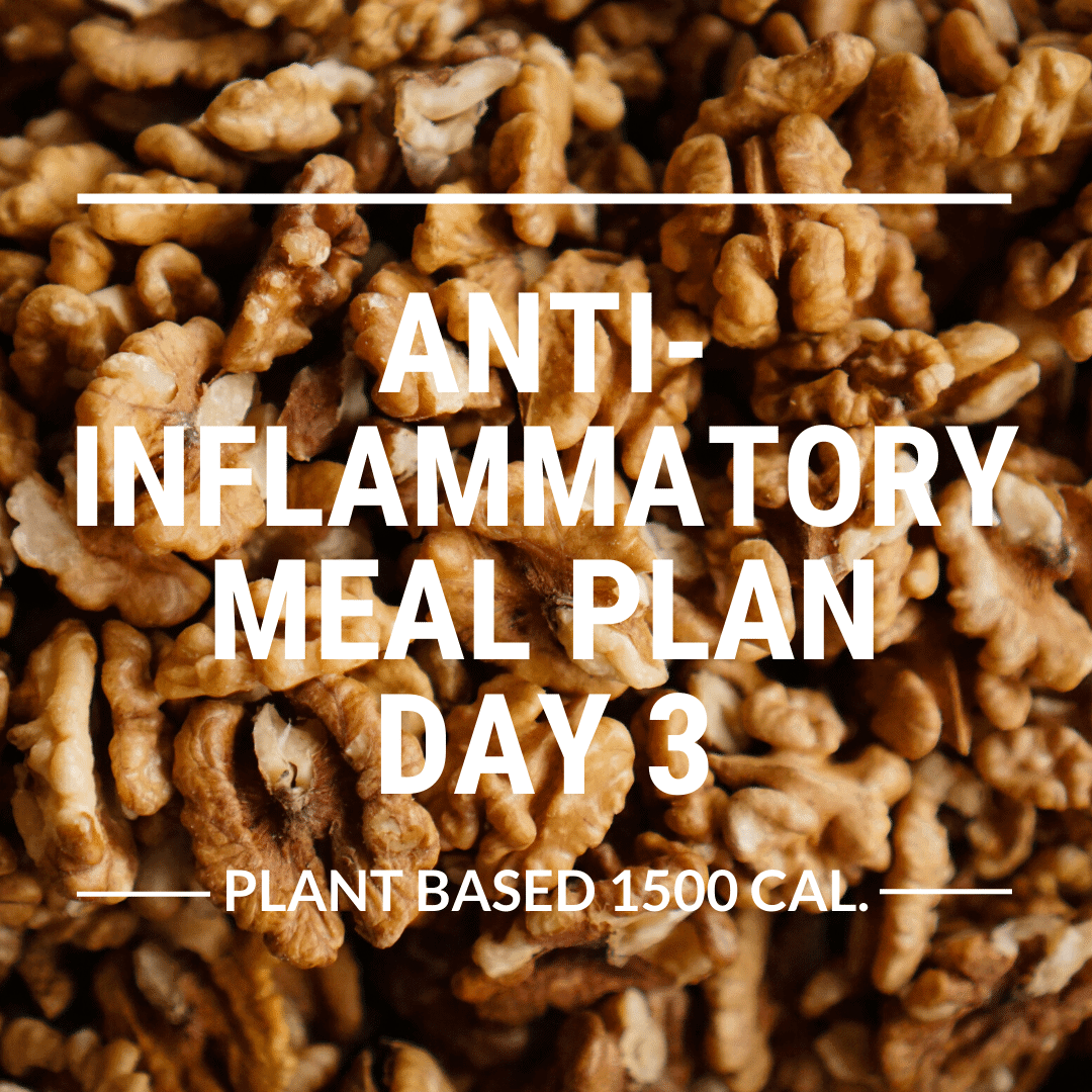 anti-inflammatory meal plan day 3
