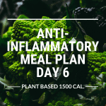 anti-inflammatory meal plan day 6