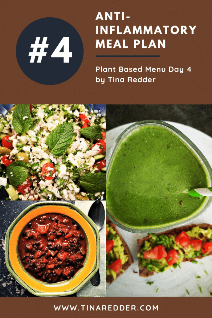anti-inflammatory meal plan day 4