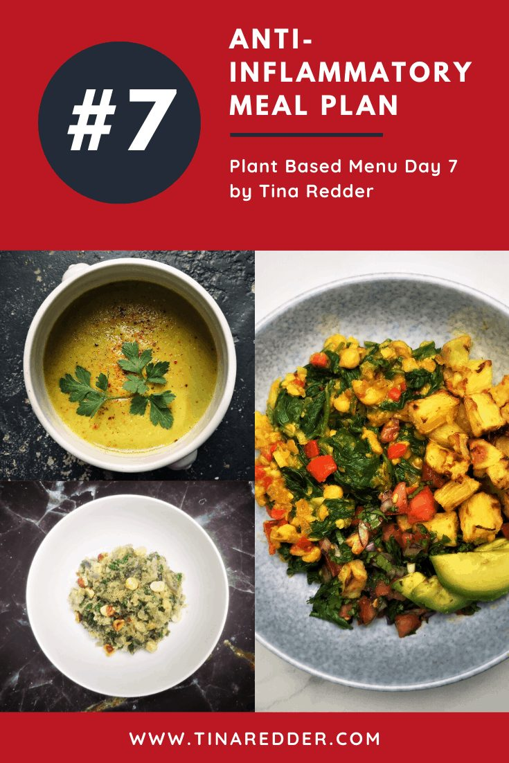anti-inflammatory meal plan day 7