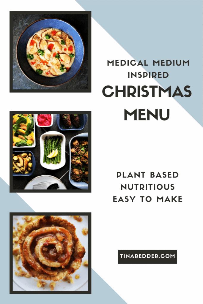 medical medium inspired christmas menu