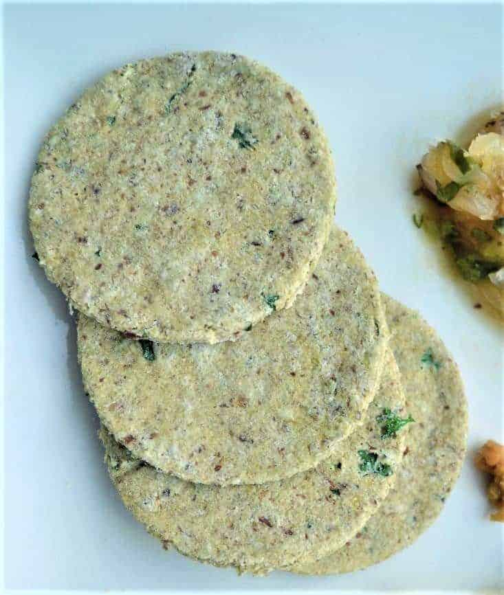 almond herb crackers