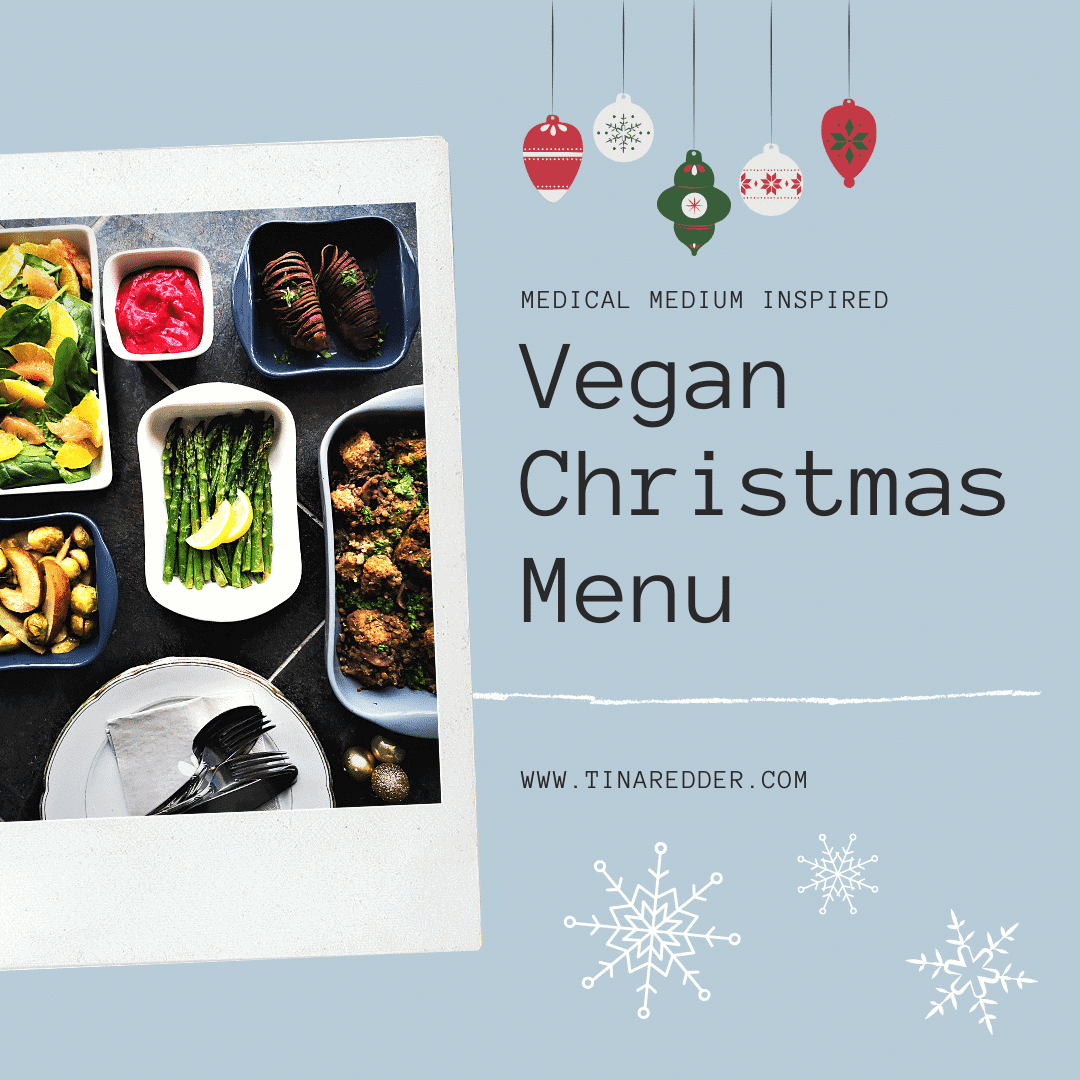 medical medium inspired vegan christmas menu