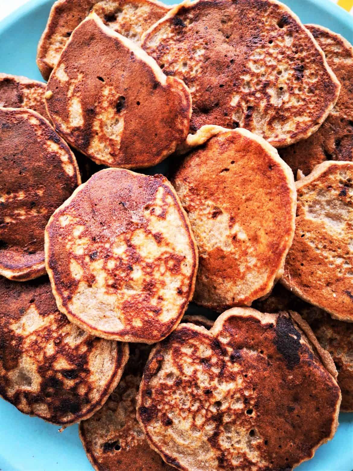 gluten free sourdough starter banana pancakes