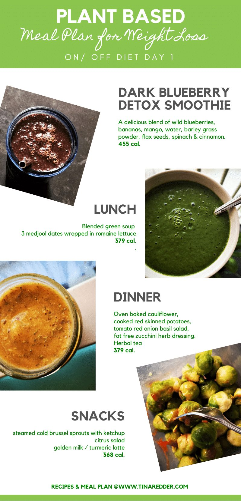 plant based meal  plan for weight loss 1