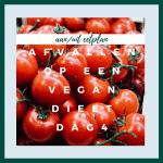 afvallen op een vegan dieet #4